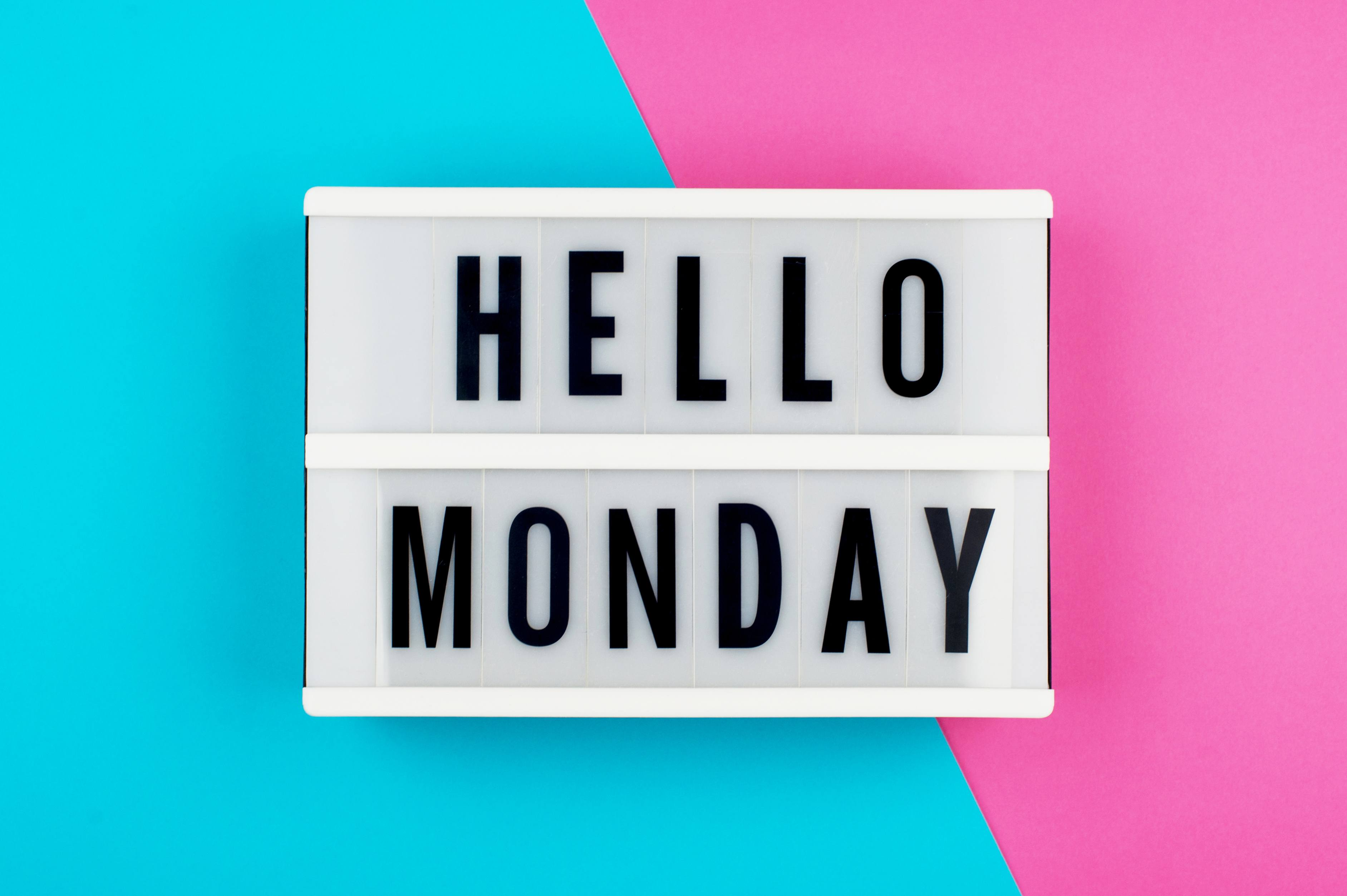 7 Tips To Get Monday Off To A Great Start Liquidplanner